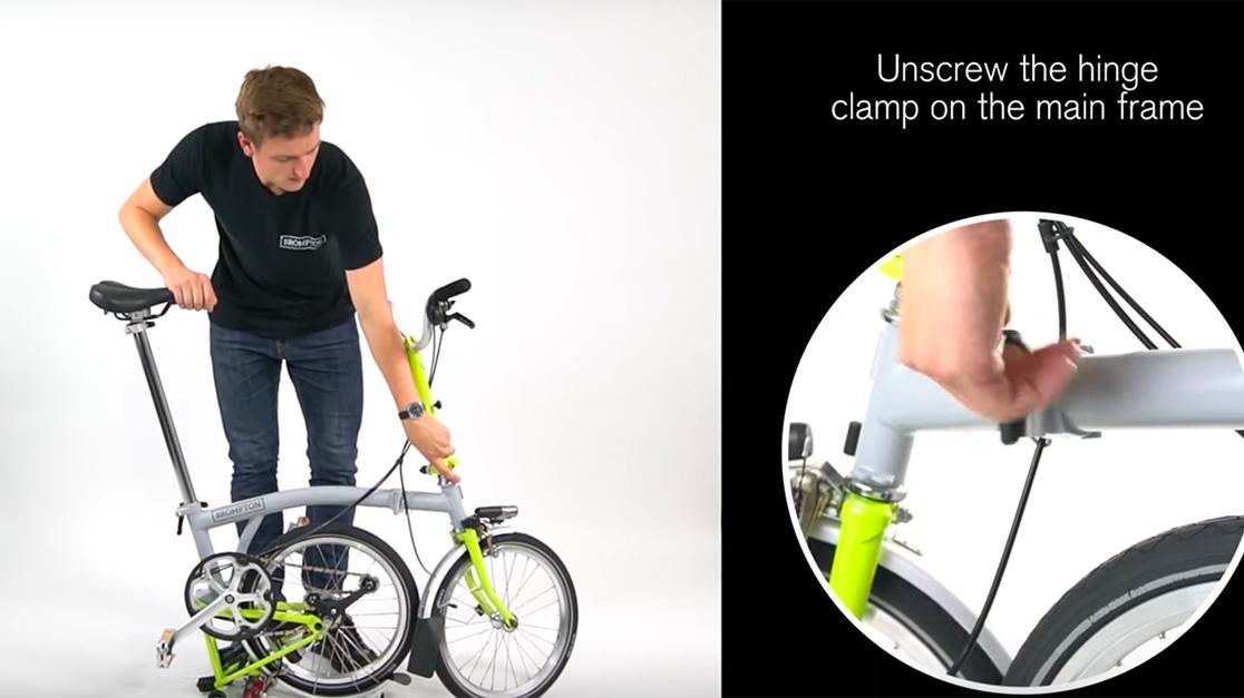 Brompton to You Quick Start Guide, How to Fold a Brompton Bike, folding bikes, free shipping